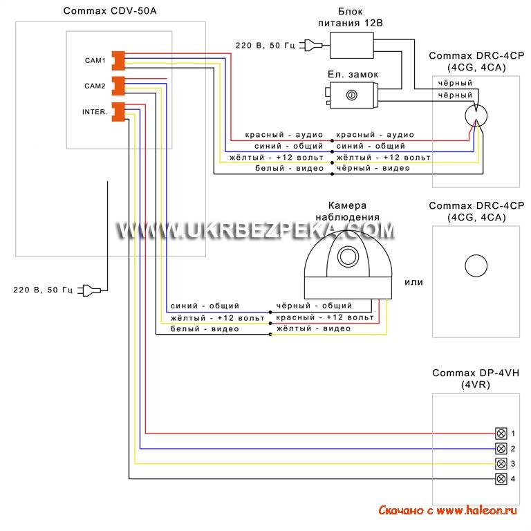 Инструкция, описание commax cdv-35a | orsa. Com. Ua.